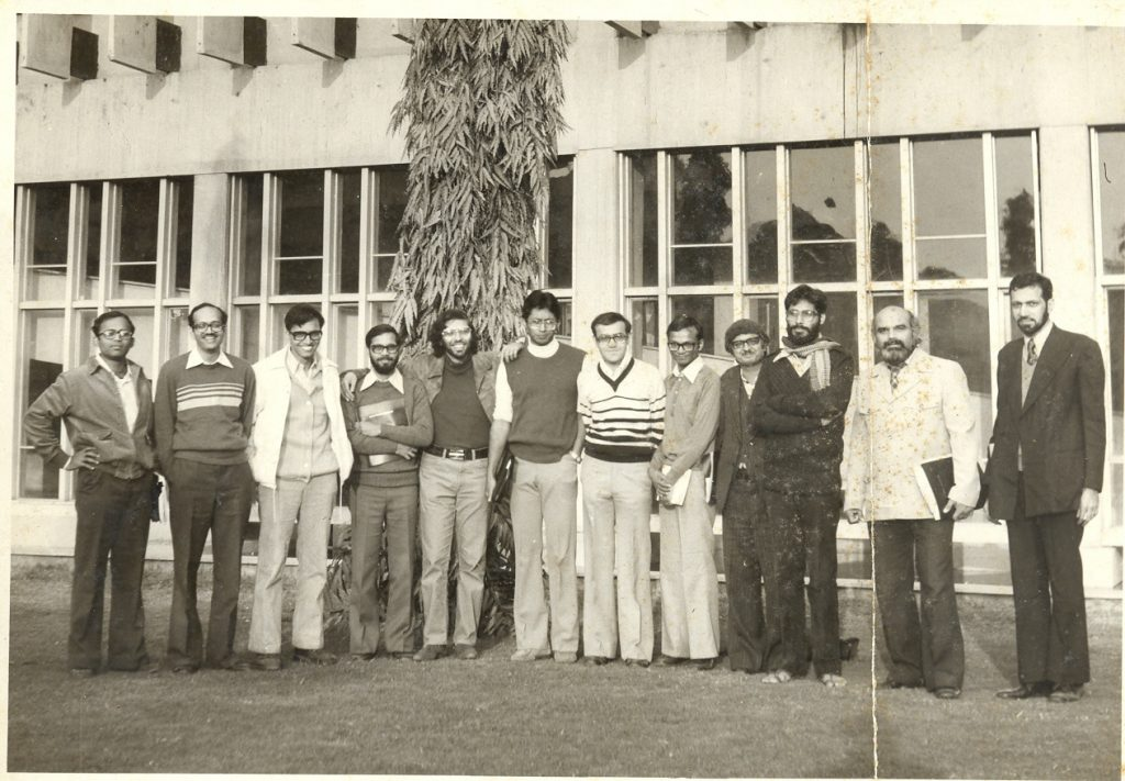 Group Photograph taken at IPA Meeting on Current Trends in Magnetism, New Delhi, 1980